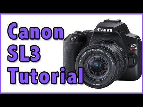 Canon SL3 Full Tutorial Training Overview | (Kiss 10, 200Dii) Video Manual