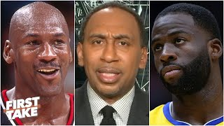 Stephen A. reacts to Draymond Green's disappointment in Michael Jordan | First Take