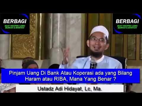 Pinjam Uang Di Bank Atau Koperasi ada yang Bilang Haram ...