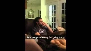 Syracuse game has my dad crazy
