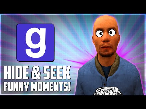 Gmod Hide & Seek Funny Moments - Hiding In The Closet, Perfect Strategy, Best Spot Ever! (Funtage)