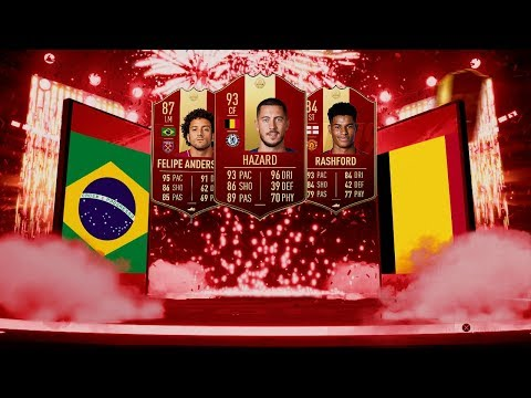 NOS SALE HAZARD 93 ROJO!!😱 RECOMPENSAS FUT CHAMPIONS FIFA 19 *DIRECTO*