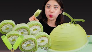I love Cool melon!올때 메로나~케이크 부…
