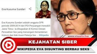 Profil Wikipedia Politisi PDIP Eva Kusuma Sundari, Disunting sebagai Anggota Situs Film Dewasa