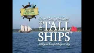 Tall Ships Sail Through Sturgeon Bay