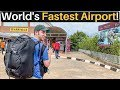 Lagu World's FASTEST AIRPORT Experience (60 Seconds!)