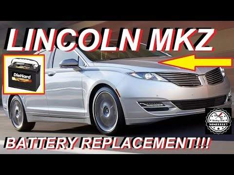 Lincoln MKZ Battery Replacement How To Change A Battery In 2013-2019 2.0L EcoBoost 4 Cylinder Turbo