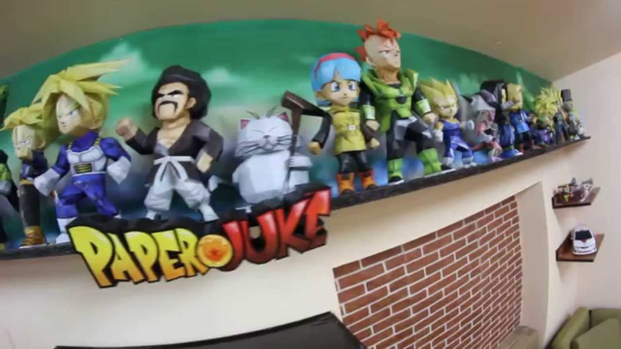 Papercraft Papercraft Chibi Dragon Ball