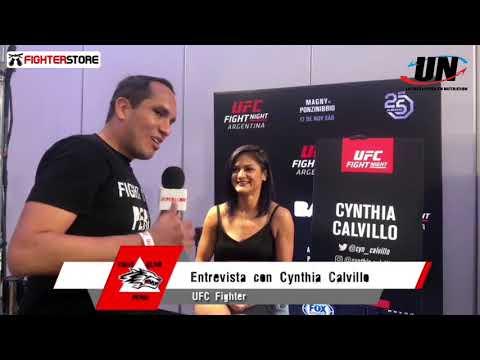 UFC Argentina: Media Day - Entrevista a Cynthia Calvillo (México)