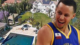 Check Out Steph Curry's Massive New Mansion