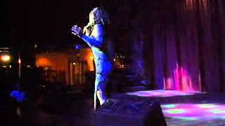 Gaby La Voz Sensual del Tango en CUBA  PRESENTACION Cabaret Continental de Varadero   junio de 2008