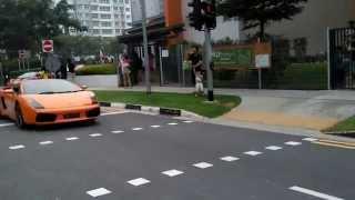Lamborghini Singapore - 2015 Lamborghini Club Singapore Punggol Fund Raising Event