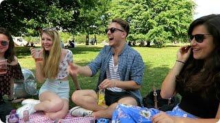 Picnic in Hyde Park! | Evan Edinger Travel