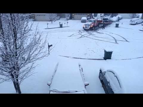 Alabama Snow Time Lapse