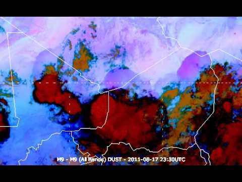 ITCZ Dust Squalls Over Africa (2011.08.17)