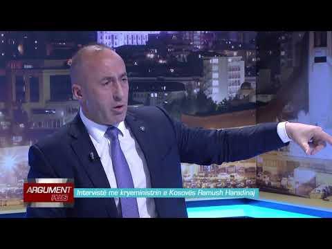 Argument Plus - Interviste me kryeministrin e Kosoves Ramush Haradinaj 23.03.2018