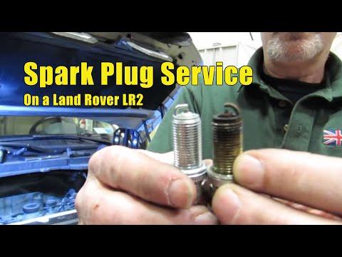 Atlantic British Presents: Install Spark Plugs on Land Rover LR2