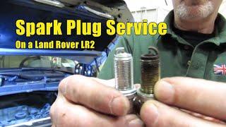 VIDEO: Spark Plug Service On LR2