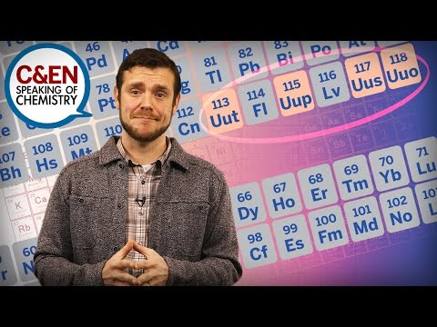 "The Four ""New"" Elements & How We Got Them–Speaking of Chemistry"