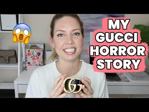 a50ee956195 12 Ways To Tell If You Bought A Fake Gucci Belt - YouTube