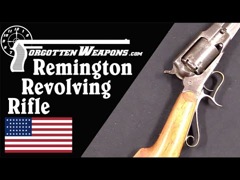 Remington's Revolving Rifle: Not Expensive, but not Successful