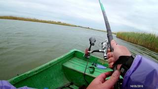 Риболовля на річці Манич, супер відео!