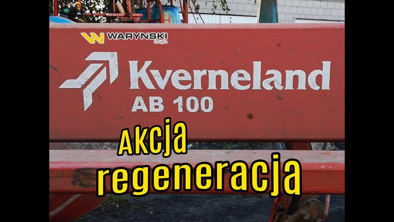 Regeneracja pług zagonowy Kverneland AB100 Waryński Origin (dłuta, lemiesze, płozy, piersi, śruby)