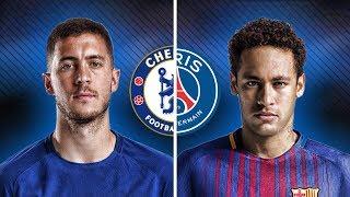 Neymar Jr Vs Eden Hazard - Crazy Skills & Goals | HD