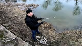 Вийшов перший раз на риболовлю з пошуковим магнітом. Я був в ШОЦІ