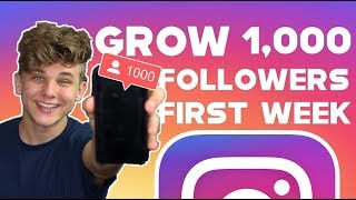 hOW TO GAIN 1,000 ACTIVE FOLLOWERS ON INSTAGRAM IN 1 WEEK 2019 GROWTH HACKS