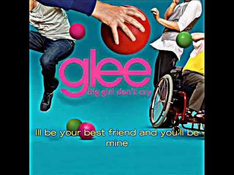 Glee - Big Girls Don't Cry (audio)