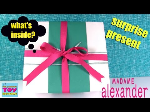 Surprise Present Madame Alexander Babble Baby Doll Unboxing Opening | PSToyReviews