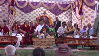 Sikyong Inaugurates Lily Village for Newly Arrived Tibetans at Bir