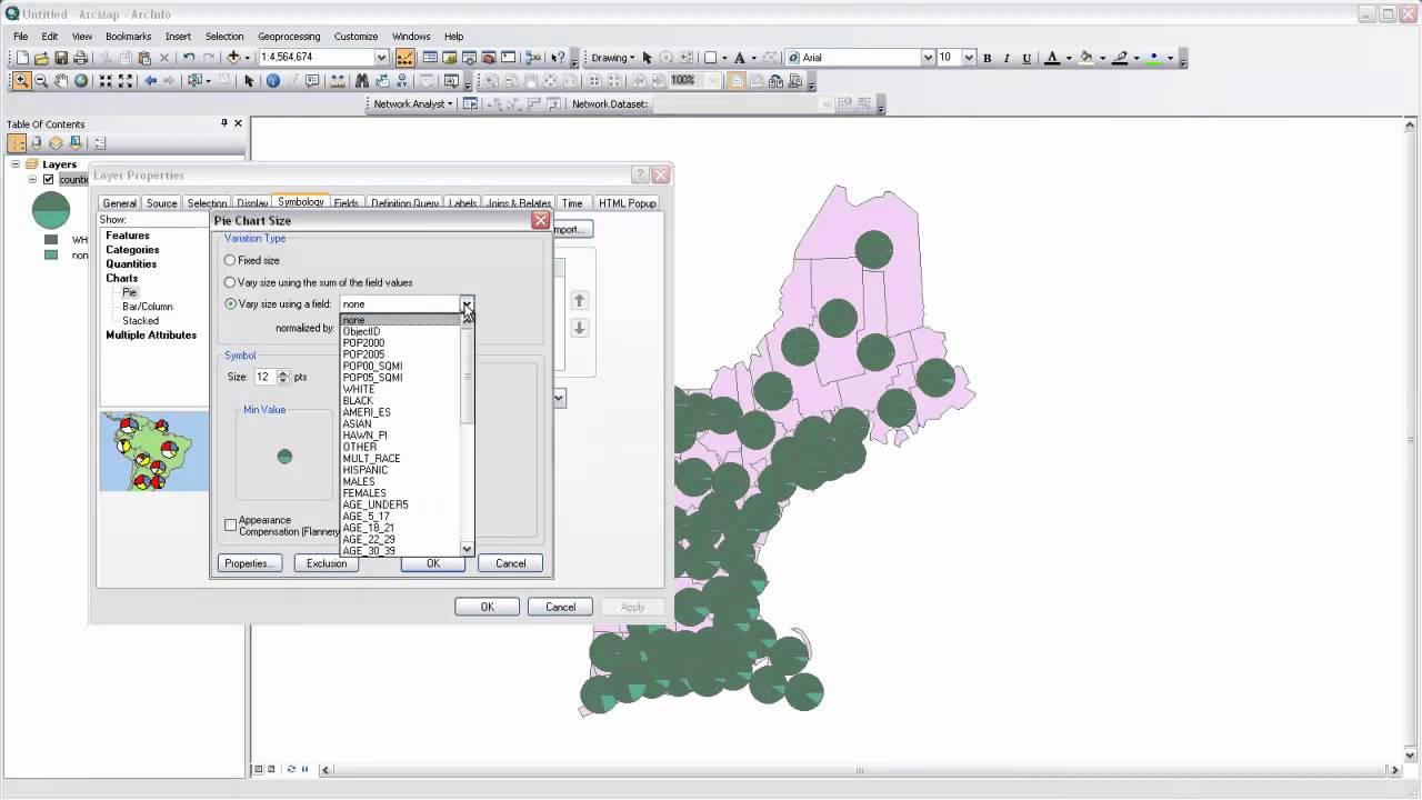 40 chart mapping with arcmap pie charts youtube chart mapping with arcmap pie charts geenschuldenfo Gallery