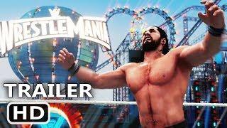 PS4 - WWE 2K18 Launch Trailer (2017)