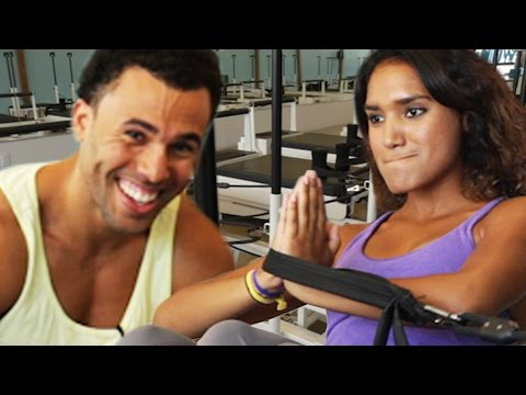 Thumbnail: Fitness Professionals Try Pilates