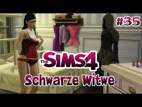 SCHWARZE WITWE • #35 - Tod durch Techtelmechtel | Let's Play Die Sims 4