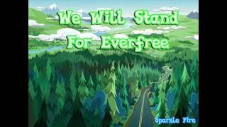 MLP: Legend of everfree - We Will Stand For Everfree - Lyric Mp3