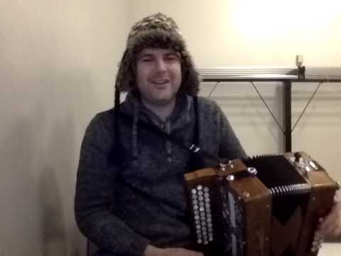 Tim Edey - melodeon/button accordion. Pressed for time by piping legend Gordon Duncan