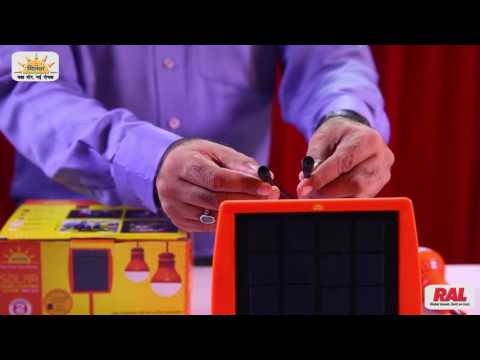 Solar Home Lighting System – MH536 in Hindi