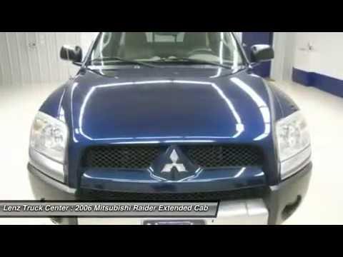 2006 Mitsubishi Raider Fond Du Lac Wi Z6332z Youtube