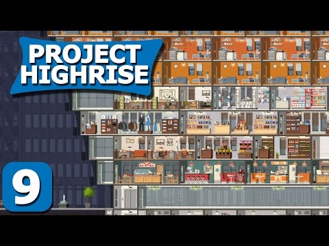 Project Highrise Part 9 - Luxury Tech - Project Highrise Steam PC Gameplay Review