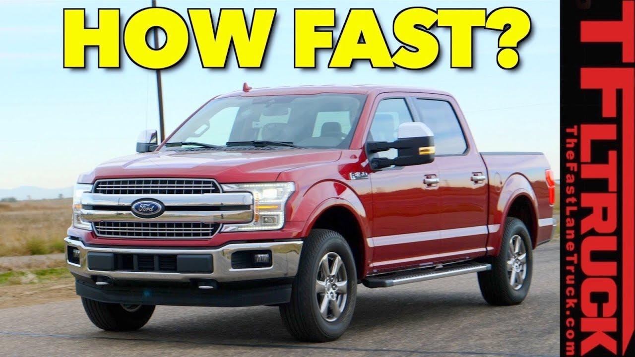 How Fast Is The Mighty Twin Turbo Ford F 150 From 0 60 Mph