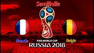 FIFA World Cup 2018 Semifinále:Francie-Belgie/FIFA 18 Let's Play CZ/SK