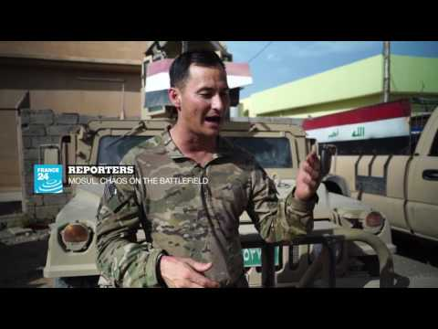 REPORTERS Mosul, chaos on the battlefield