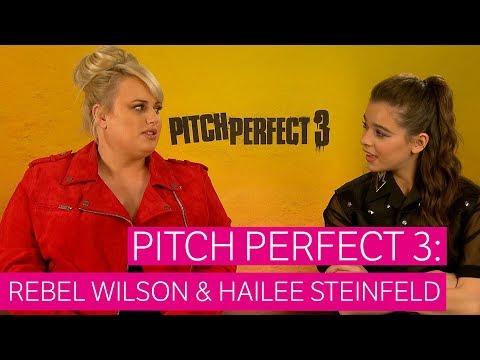 Pitch Perfect 3: Redactrice Robine sprak met Rebel Wilson en Hailee Steinfeld