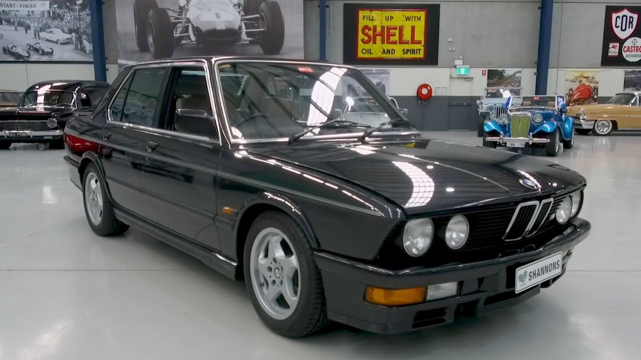 1986 BMW M535i 'Manual' Saloon - 2020 Shannons Winter Timed Online Auction