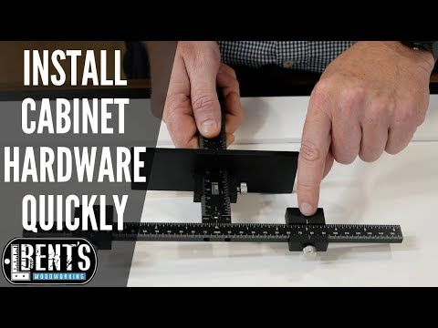 Install Cabinet Hardware Fast And Easy - True Position Tools Cabinet Hardware Jig
