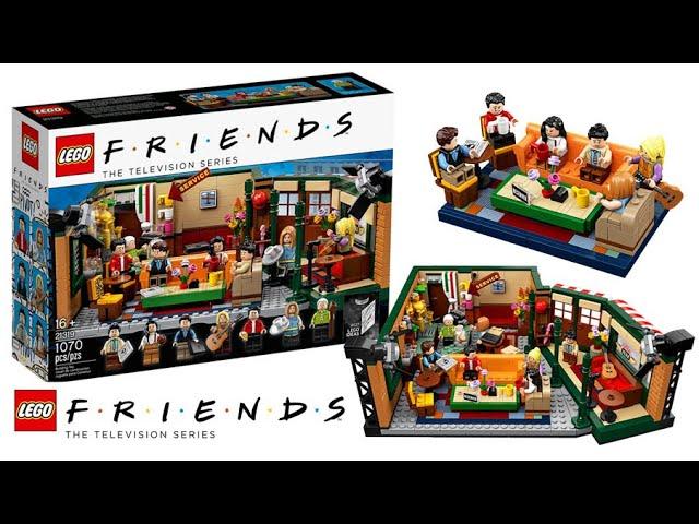 Lego Ideas 21319 Friends Central Perk-Review-deutsch