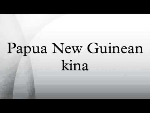 Papua New Guinean kina